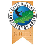 gold David Bellamy Conservation Award